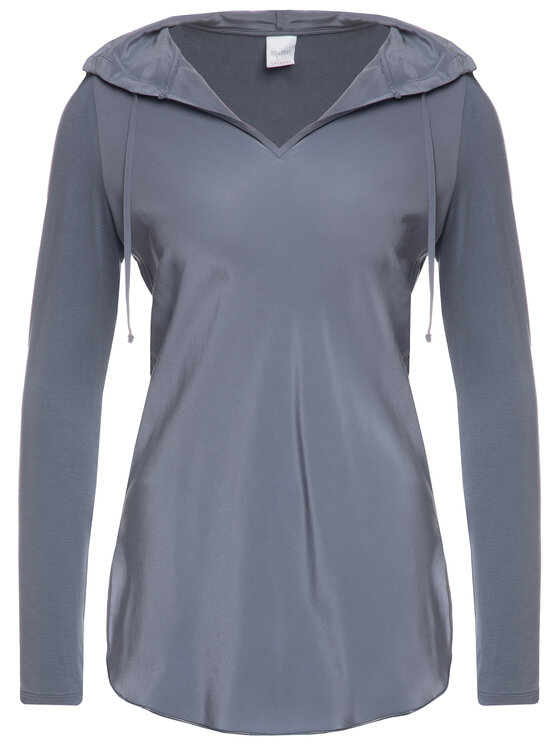 Max Mara Leisure Max Mara Leisure Bluzka 39460796 Granatowy Regular Fit