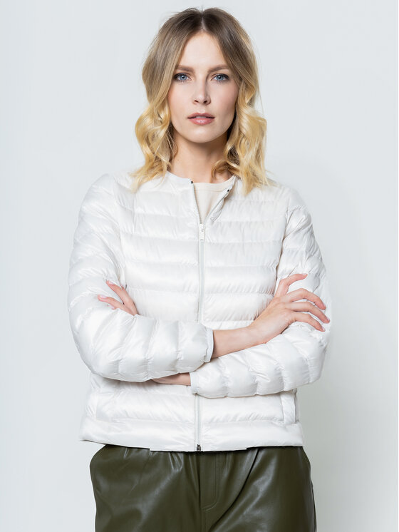 Weekend Max Mara Weekend Max Mara Pehelykabát Fiorire 54810407 Bézs Regular Fit