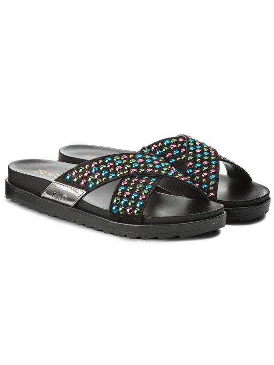 Liu Jo Liu Jo Šlepetės Sandalo Footbed S18139 T9474 Juoda