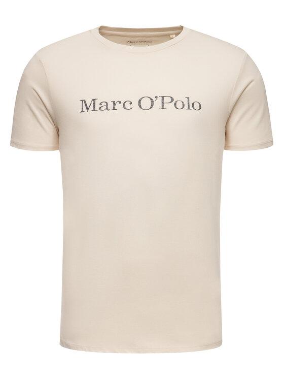 Marc O'Polo Marc O'Polo Póló 021 2220 51230 Bézs Regular Fit