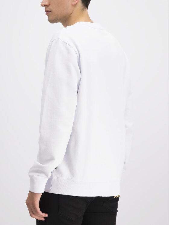 Versace Jeans Couture Versace Jeans Couture Felpa B7GUA7F9 Bianco Regular Fit