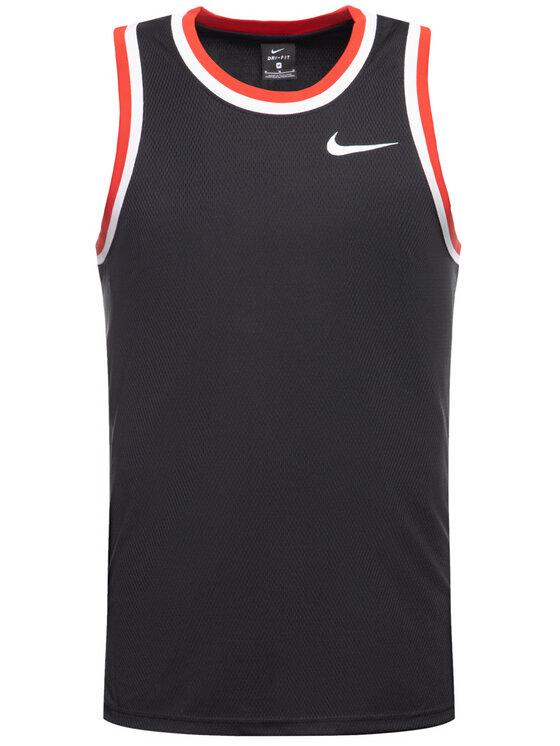 Nike Nike Тениска от техническо трико Classic AQ5591 Черен Standard Fit