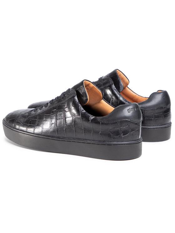 Gino Rossi Gino Rossi Sneakersy MI07-A973-A802-07 Czarny