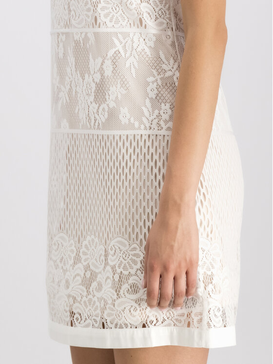 Liu Jo Beachwear Liu Jo Beachwear Sukienka letnia V19043 J5658 Biały Regular Fit