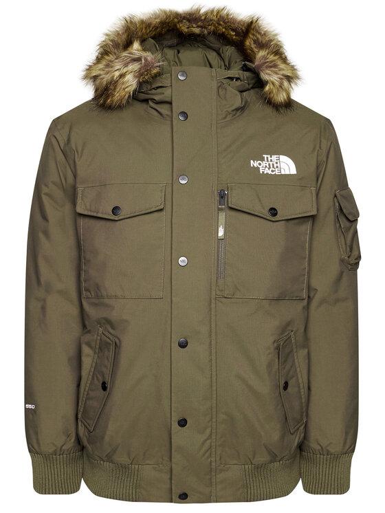 The North Face The North Face Geacă de iarnă Gotham NF0A4M8F21L Verde Regular Fit