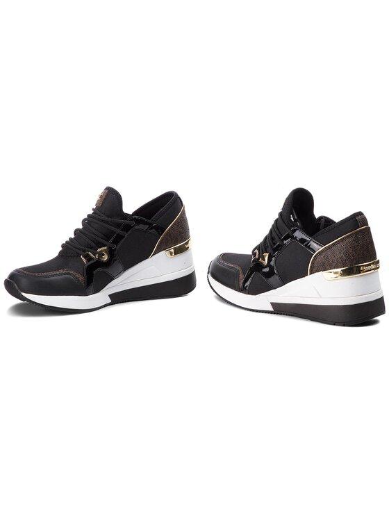 MICHAEL Michael Kors MICHAEL Michael Kors Sneakersy Liv Trainer 43F8SCFS3D Černá