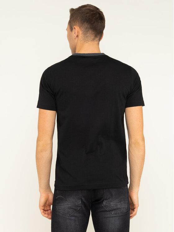 Calvin Klein Calvin Klein Póló Tone On Tone Logo K10K104935 Fekete Regular Fit