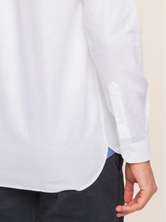 Lacoste Lacoste Πουκάμισο CH1948 Λευκό Slim Fit