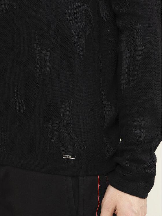 Hugo Hugo Sweter Scamo 50418611 Czarny Regular Fit