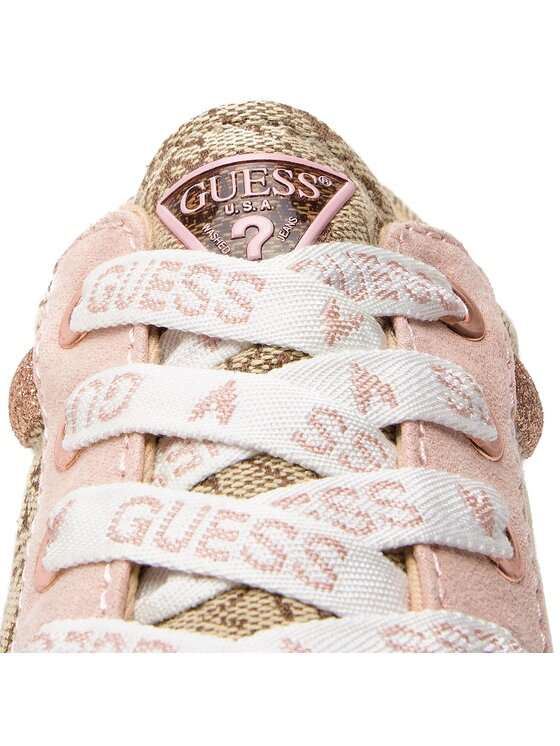 Guess Guess Sneakersy FL5LY2 FAL12 Hnědá