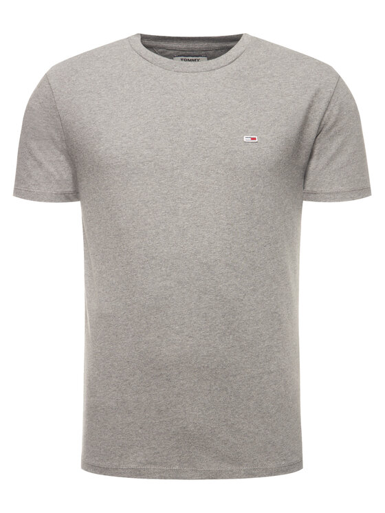 Tommy Jeans Tommy Jeans T-Shirt Tjm Tommy Classics Tee DM0DM06061 Γκρι Regular Fit