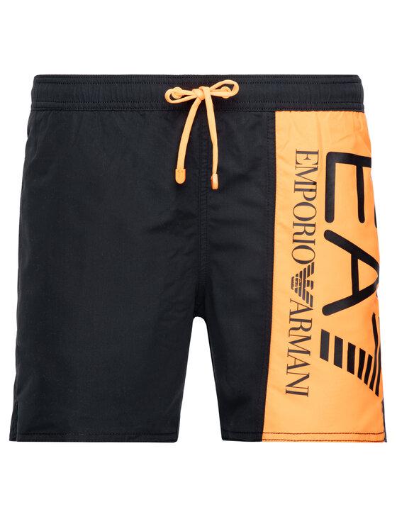 EA7 Emporio Armani EA7 Emporio Armani Pantaloni scurți pentru înot 902000 9P738 00020 Negru Regular Fit