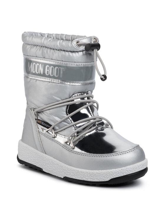 Moon Boot Sniego batai Girl Soft Wp 34051700003 Sidabrinė