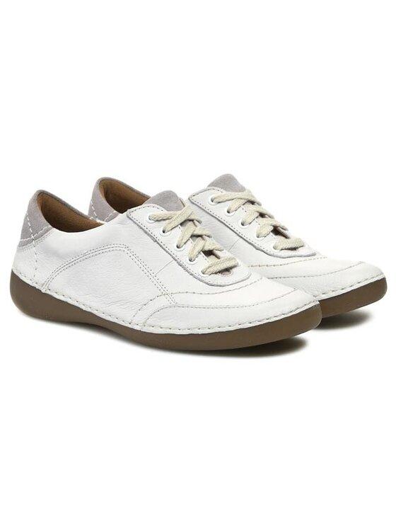Clarks Clarks Halbschuhe Fashion Glitz 203580314 Weiß