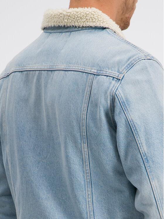 Calvin Klein Jeans Calvin Klein Jeans Džinsinė striukė J30J312432 Mėlyna Regular Fit