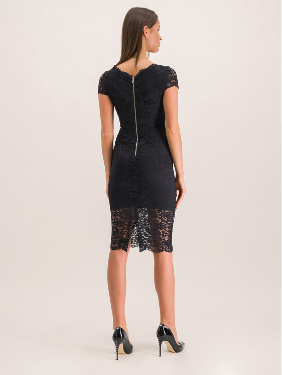 Marciano Guess Marciano Guess Sukienka koktajlowa 94G791 9202Z Czarny Slim Fit