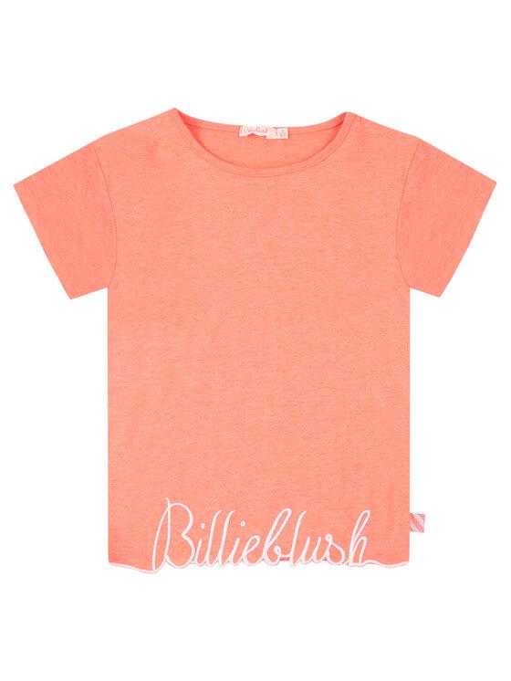 Billieblush Billieblush T-Shirt U15733 Różowy Regular Fit