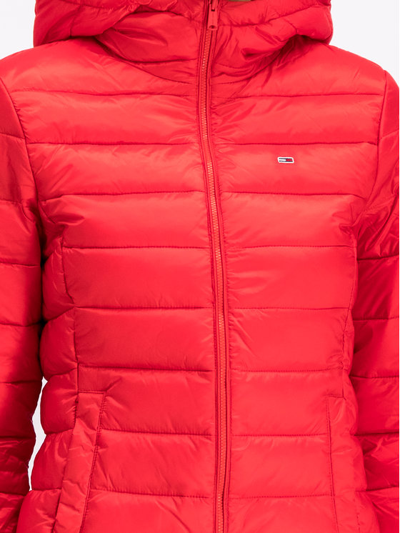 Tommy Jeans Tommy Jeans Giubbotto piumino Quilted Zip DW0DW06748 Rosso Regular Fit