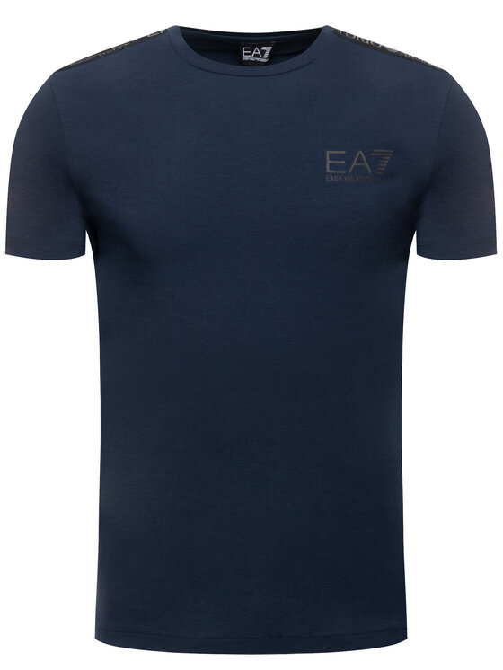 EA7 Emporio Armani EA7 Emporio Armani T-Shirt 6GPT13 PJ20Z 1554 Σκούρο μπλε Regular Fit