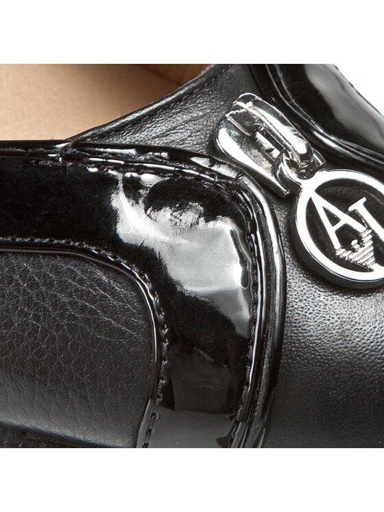Armani Jeans Armani Jeans Γόβες Z5582 42 12 Μαύρο