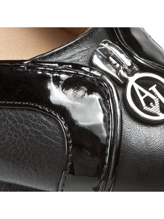 Armani Jeans Armani Jeans Scarpe stiletto Z5582 42 12 Nero
