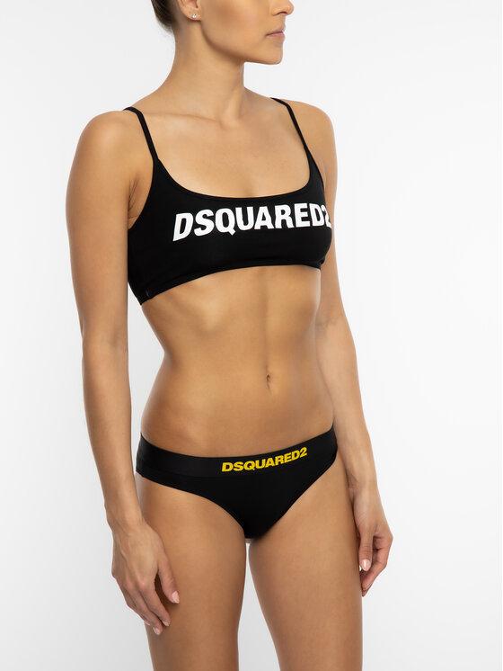 Dsquared2 Underwear Dsquared2 Underwear Figi klasyczne D8L612190 Czarny