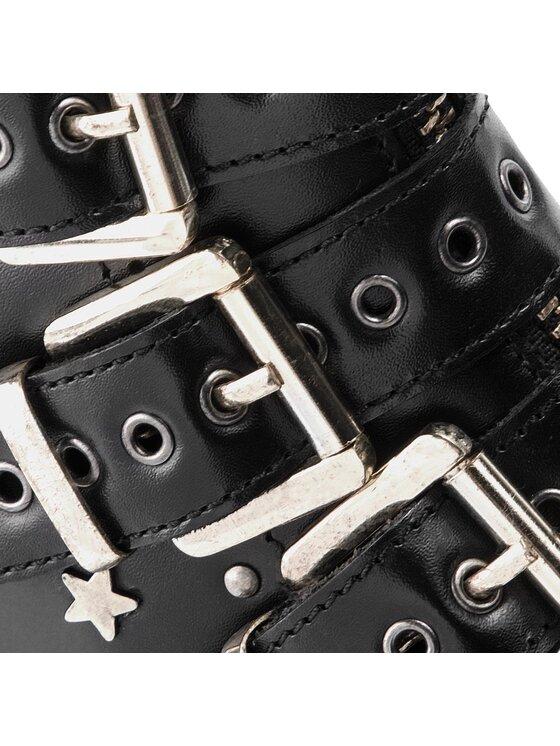 Pepe Jeans Pepe Jeans Polokozačky Savile Venue PLS50324 Černá