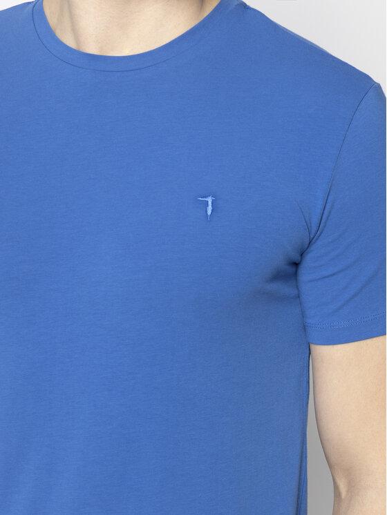 Trussardi Jeans Trussardi Jeans Tricou 52T00309 Albastru Slim Fit
