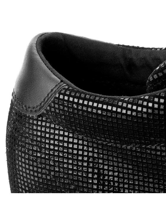 Tommy Hilfiger Tommy Hilfiger Sneakersy DENIM Nice Wedge 5Z2 FW0FW01772 Čierna