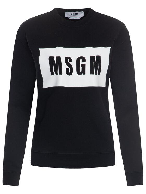 MSGM MSGM Bluză 2841MDM96 207299 99 Negru Regular Fit