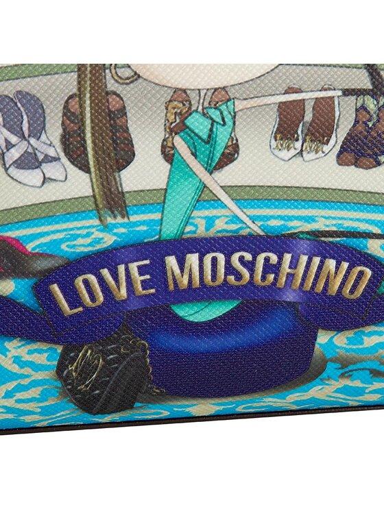 LOVE MOSCHINO LOVE MOSCHINO Duży Portfel Damski JC5577PP01KS170A