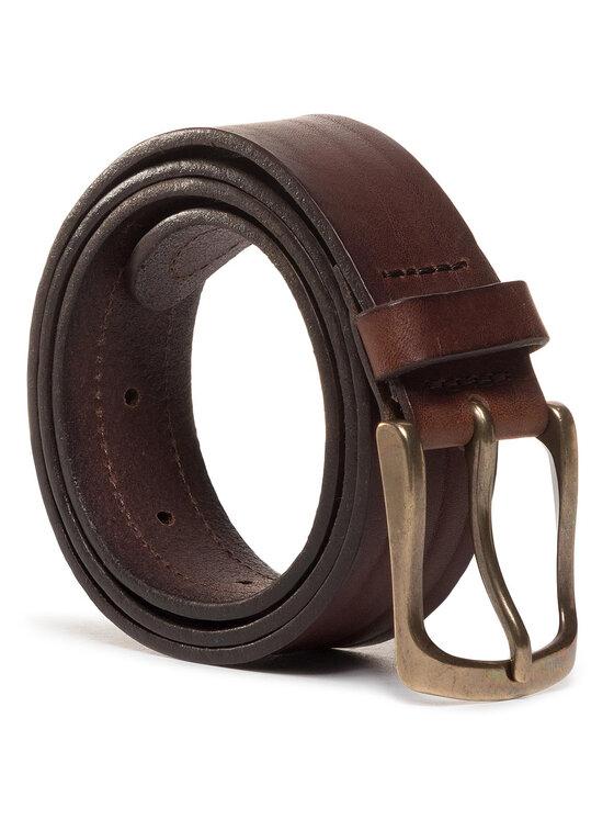 Wrangler Wrangler Férfi öv Double Layer Belt W0D1U1X85 Barna