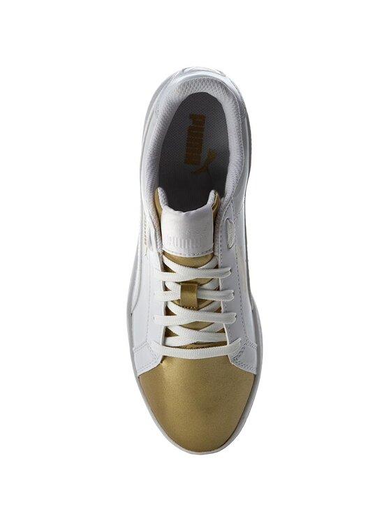 Puma Puma Sneakersy Smash Wns Metallic 363611 Biały