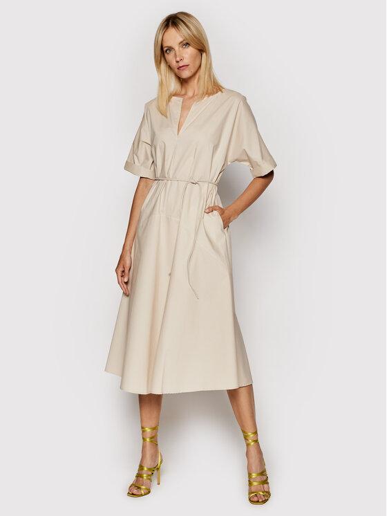 Imperial Kasdieninė suknelė ABTWBGV Smėlio Regular Fit