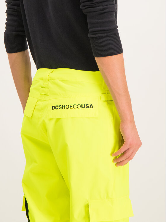 DC DC Pantaloni da snowboard EDYTP03047 Verde Regular Fit