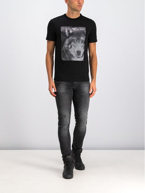 Emporio Armani Emporio Armani T-Shirt 6G1T77 1J19Z 0922 Schwarz Regular Fit