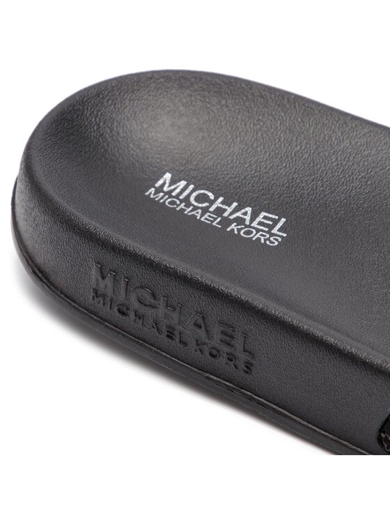 MICHAEL Michael Kors MICHAEL Michael Kors Чехли Gilmore Slide 40R9GMFA1S Черен