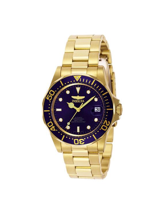 Invicta Watch Laikrodis 8930 Auksinė