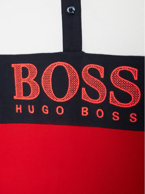 Boss Boss Polo J25L25 D Czerwony Slim Fit
