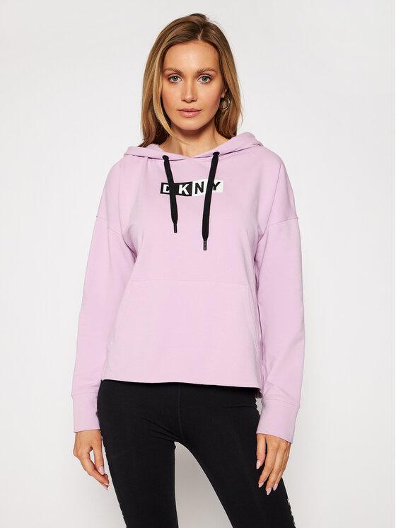 DKNY Sport Džemperis DP0T7713 Violetinė Loose Fit