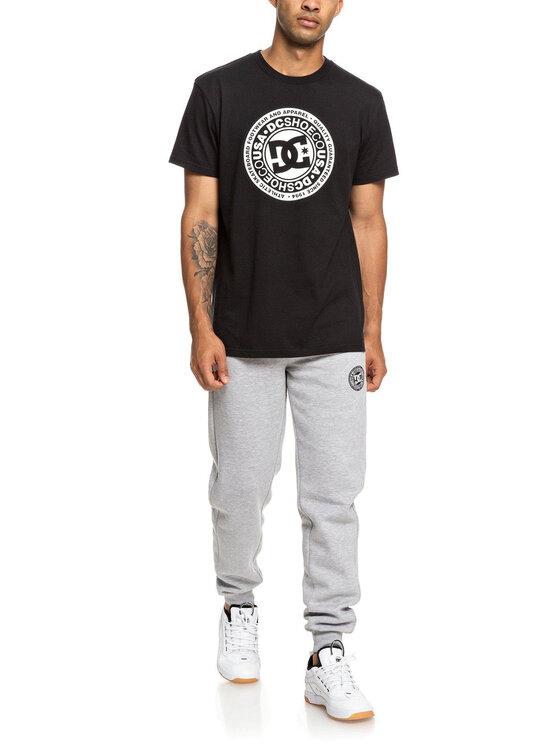 DC DC Marškinėliai EDYZT03901 Juoda Regular Fit