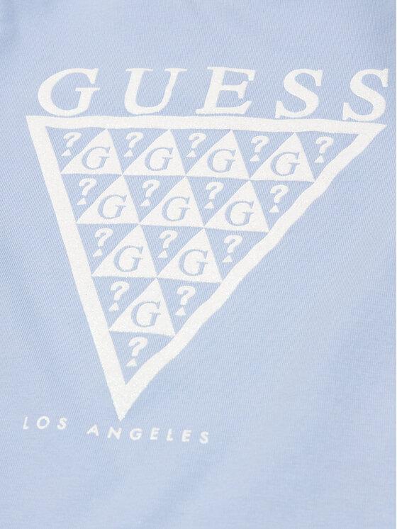 Guess Guess T-Shirt K01I14 K82K0 Blau Regular Fit