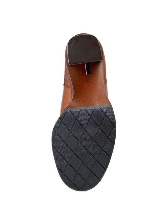 Tommy Hilfiger Tommy Hilfiger Členková obuv Hillary 4A FW56817635 Hnedá