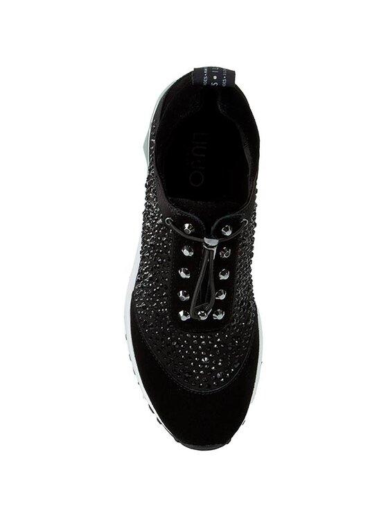 Liu Jo Liu Jo Sneakersy Sneaker Aura S16147 T0380 Čierna