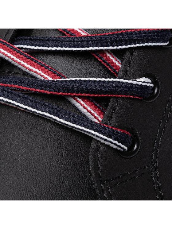 Tommy Jeans Tommy Jeans Laisvalaikio batai Essential Tommy Jeans Sneaker EM0EM00389 Juoda