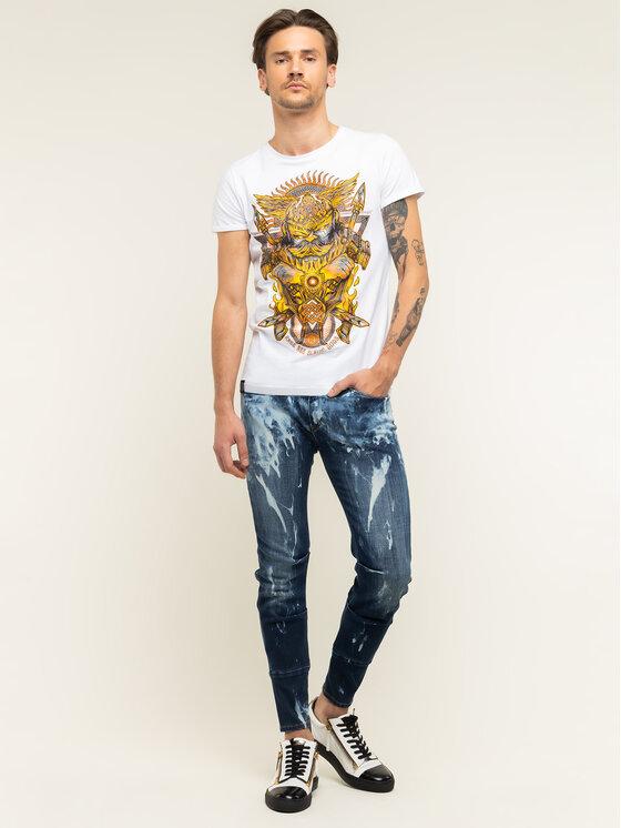 Rage Age Rage Age T-Shirt Swaróg Biały Slim Fit