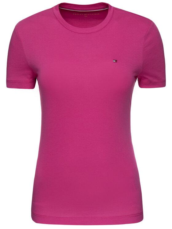 Tommy Hilfiger Tommy Hilfiger T-shirt WW0WW24843 Rosa Regular Fit