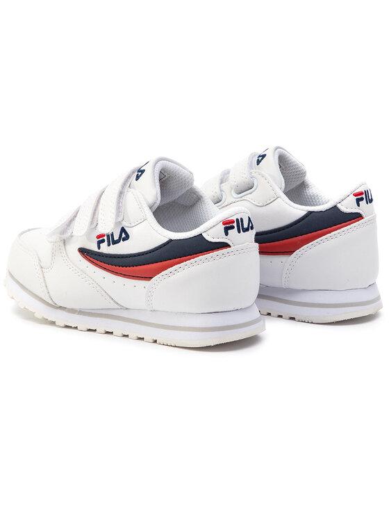 Fila Fila Sneakersy Orbit Velcro Low JR 1010350.98F Biały