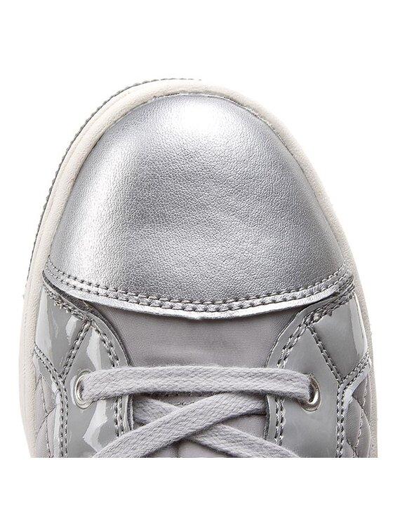 Geox Geox Sneakersy J Creamy H J52L5H 0FUHH C1006 Sivá
