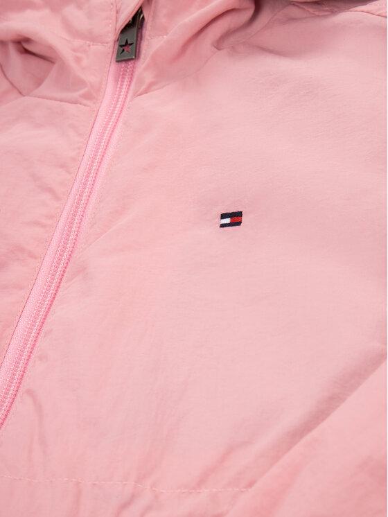 Tommy Hilfiger Tommy Hilfiger Demisezoninė striukė Essential Packable KG0KG04910 M Rožinė Regular Fit